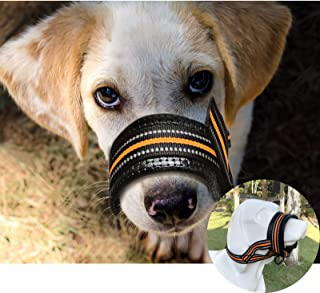 eKoi Adjustable Mesh Dog Muzzle Grooming Nylon Mask Mouth Muzzle Dlya Sobak Closed Anti Stop Bark Bite Chew Pet Training Accessories