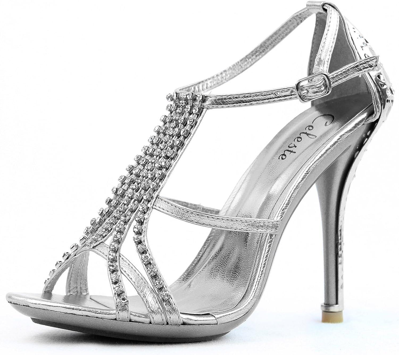 Celeste Woherrar Sasa -02 Evening Sandals Mode skor skor skor  många överraskningar