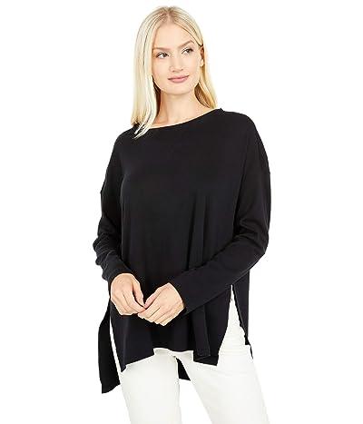 PACT Organic Cotton Side Slit Tunic (Black) Women