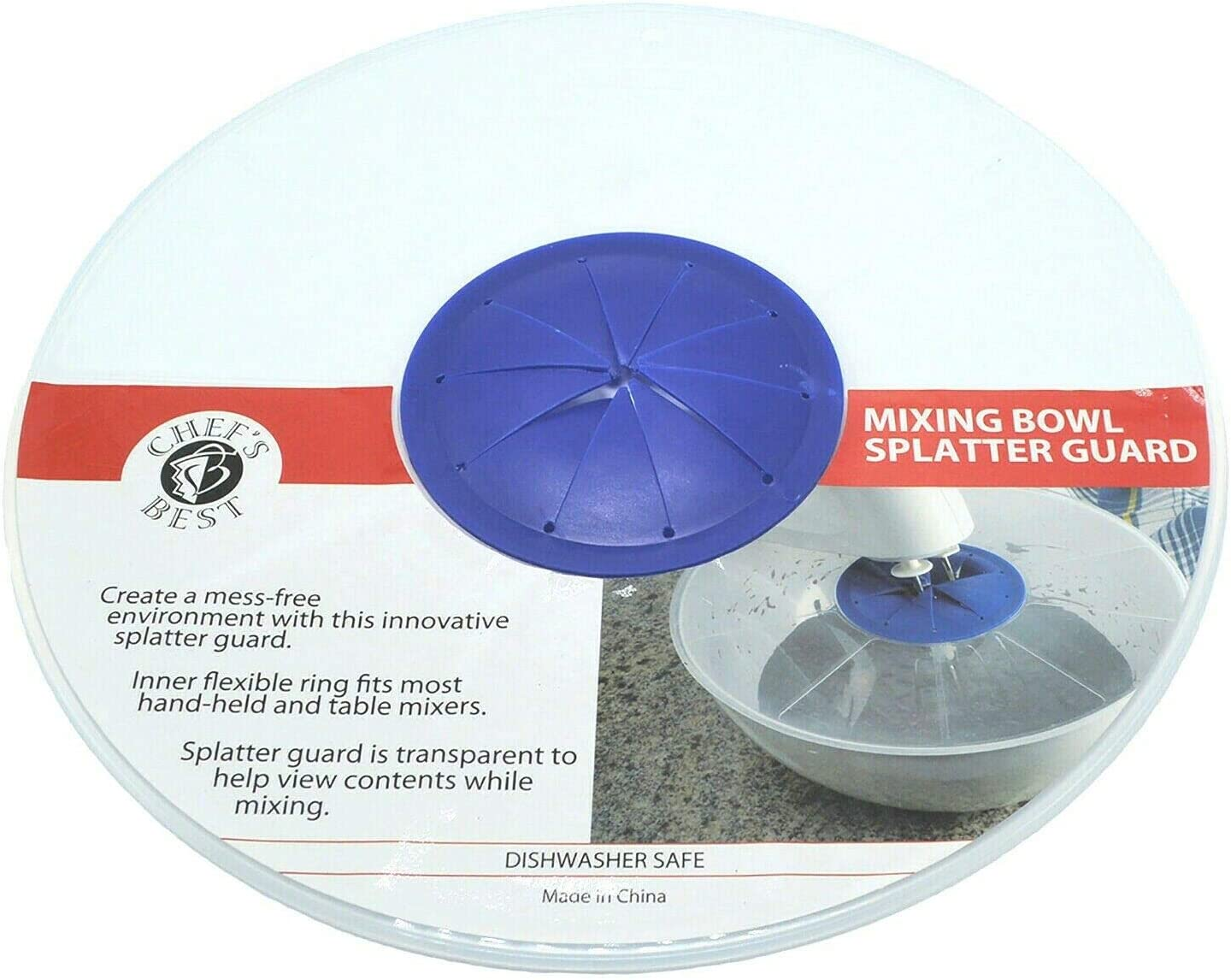 Store Chef's Best Mixing Splatter Bowl 2021 Guard