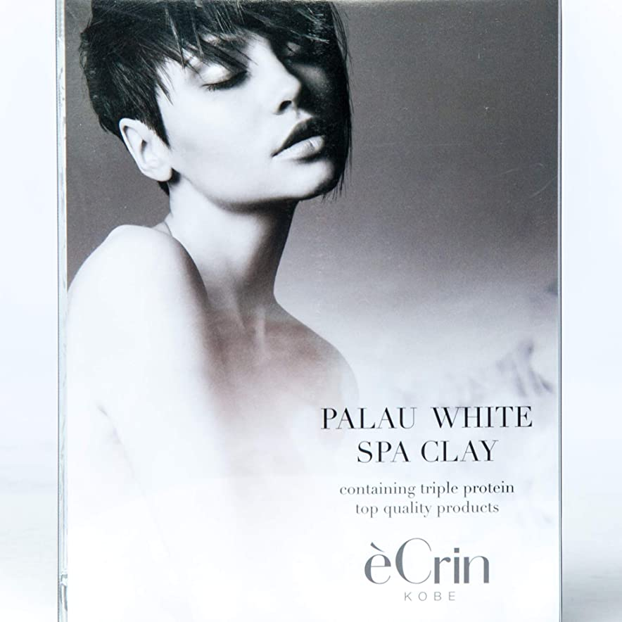 知的安らぎ好ましいパラオホワイト スパクレイ 入浴用化粧料 ノンシリコン 50g5包