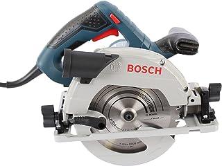 Bosch Professional handhållen cirkelsåg GKS 55+ GCE ( insexnyckel, klinga, parallellanslag samt adapter)