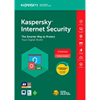 Kaspersky Internet Security 2018 for 3 Devices / 1 Year (Keycard)