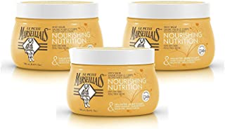 Le Petit Marseillais Shea Butter, Sweet Almond & Argan Oil Nourishing Body Balm, French Skin Care for providing relief to Dry Skin & pH Neutral for Skin, 8.4 fl. oz, Pack of 3
