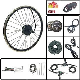 Schuck Kit de conversión de Bicicleta eléctrica de 20 Pulgadas con indicador para Rueda Trasera LED900S 36 V 250 W Cartucho Motor de Cubo V-Freno o Freno de Disco