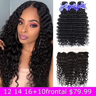 Best curly hair with lace closure Reviews