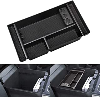 Center Console Organizer Tray Fit for 2019 Chevy Silverado 1500 / GMC Sierra 1500 and 2020 Chevy Silverado/GMC Sierra 150...
