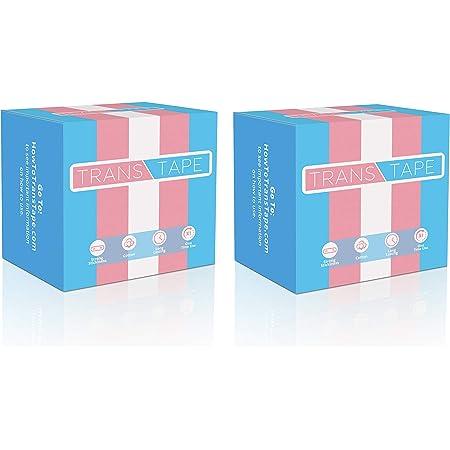 Trans Tape - Best Trans FTM Binder for Chest Binding (2 Pack)