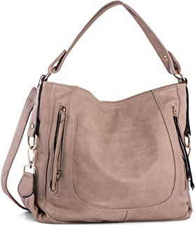 815c7af9ff2c Amazon.com  Beige - Hobo Bags   Handbags   Wallets  Clothing