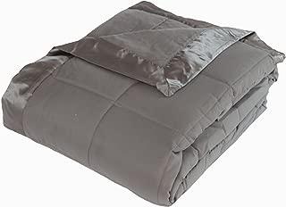 Cozy Fleece Blanket Full/Queen Steel Gray