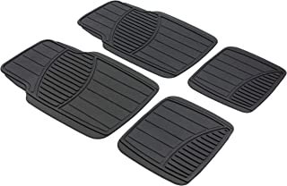 Walser 28002Rubber Mats for Cars Straight Line Can Be Cut To Fit–Black