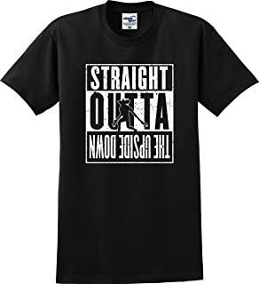 Utopia Sport Straight Outta The Upside Down Demogorgon Distressed T-Shirt (S-5X)