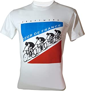 Men's Kraftwerk Electronic Band Tour de France T-Shirt
