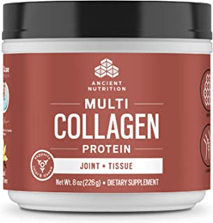 Ancient Nutrition Multi Collagen Protein Powder, Joint + Tissue Support - 20 Serving
