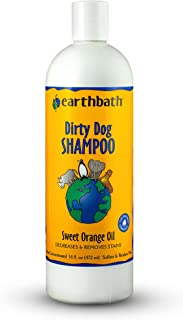 Earthbath 2 Pack of Dirty Dog Sweet Orange Oil Shampoo, 16 Ounces Each, Degreases and Removes Stains