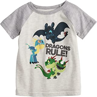 390122b256 Jumping Beans Little Boys' Toddler 2T-5T How to Train Your Dragon Tee