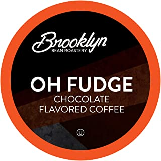 Brooklyn Beans Oh Fudge Gourmet Coffee Pods, Compatible with 2.0 Keurig K Cup Brewers, 40 Count