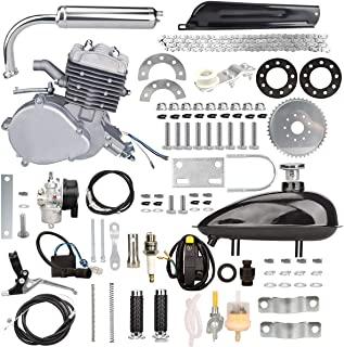 Yaheeda 80CC Bicycle Engine Kit,Motorized Upgrade Bike 2-Stroke Conversion Kit,DIY Petrol..
