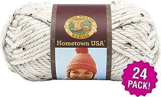 Lion Brand 99064 Hometown USA Yarn 24/Pk-Aspen Tweed, Pack