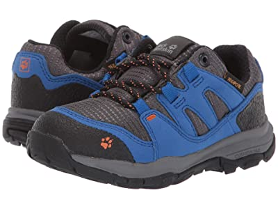 Jack Wolfskin Kids Mountain Attack 3 Texapore Low (Toddler/Little Kid/Big Kid) (Vibrant Blue) Boys Shoes