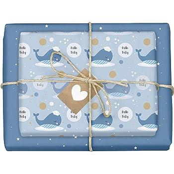 Kinderzimmer Wanduhr Storch Geburtsdaten Geschenk zur Geburt oder Taufe Uhr f/ür Jungen