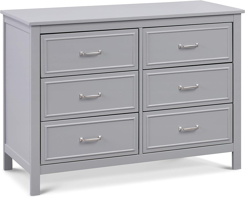 DaVinci Charlie Translated Regular dealer 6-Drawer Grey Dresser in
