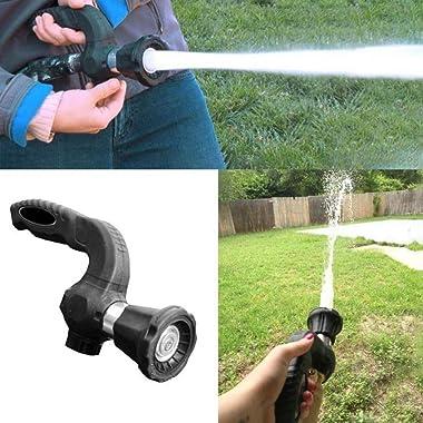 Garden Hose Nozzle Pressurized Water Gun Sprayers Hose Blaster Fireman Nozzle Lawn Garden Super Powerful Home Original Car Wa