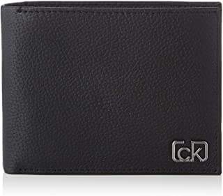 Calvin Klein Signature Pebble 5CC With Coin Wallet, Black, 12 cm, K50K505306