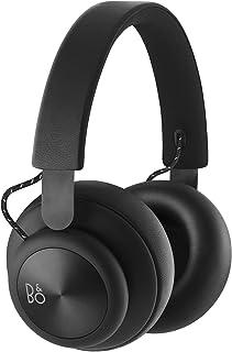 Bang & Olufsen Beoplay H4 Wireless Over-Ear Headphones, Leather Bluetooth Headphones, Black