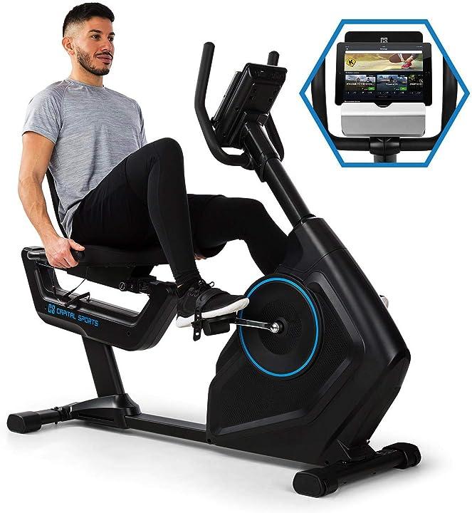 Cyclette, bici cardio, bicicletta statica, 32 livelli, bluetooth, computer di allenamento FITN7-1300-jhuz