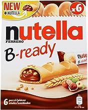 Nutella B-Ready Wafer, 6 X 22 g