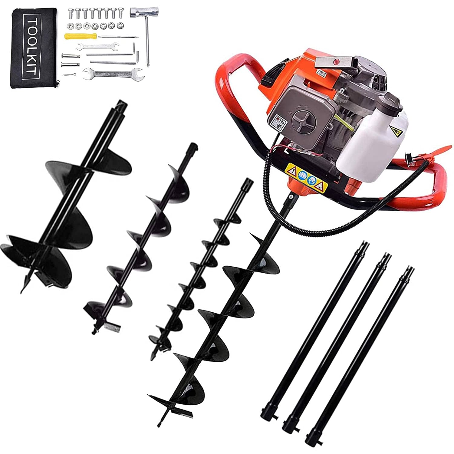 72CC 4HP Stroke Max 79% OFF Gas Post Digge Ultra-Cheap Deals Digger Powered Hole