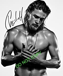Charlie Hunnam sexy reprint signed photo #2 Sons of Anarchy