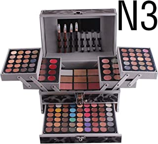FantasyDay Pro 132 Colors All In One Ultimate Color Makeup Kit Carry All Trunk Cosmetic Contouring Palette (Concealer, Face Powder, Lipgloss, Blusher, Contour Shade, Eye Liner and Eyebrow powder) #3