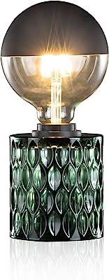 Pauleen 480.23 48023 Crystal Magic Max.20W luminaire à PoserE27 Lampe de Chevet Vert 230V Verre sans Ampoule