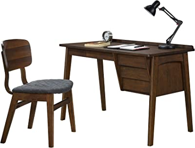 Fabulous Amazon Com Acme Furniture 2Pc Home Office Writing Desk Andrewgaddart Wooden Chair Designs For Living Room Andrewgaddartcom