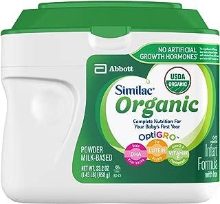 Similac 高级婴儿含铁配方奶粉,23.2 盎司(6 包)(无暇包装)