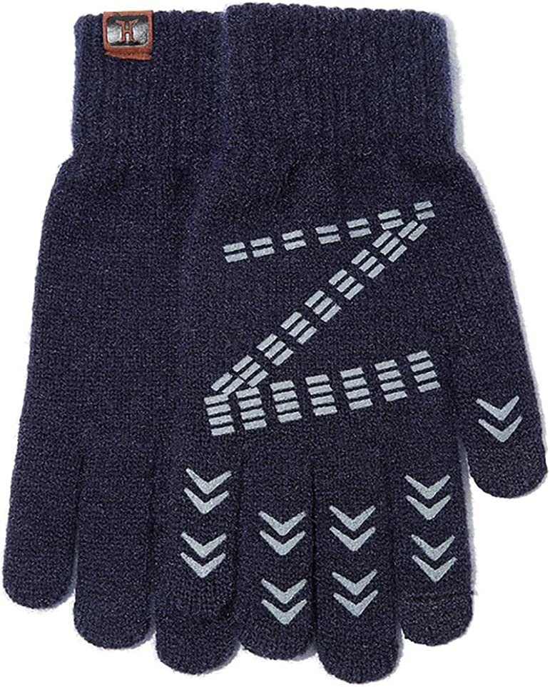 COSYOO Cozy Dress Unisex Phone Thermal Winter Gloves Fashion Classic Soft Stretchy Unisex Breathable Texting Gloves for Couple