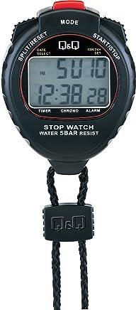 シチズン Q&Q ストップウォッチ スプリット計測 カウントダウンタイマー 付き HS44-001
