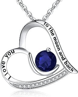 BriLove Women 925 Sterling Silver CZ Engraved