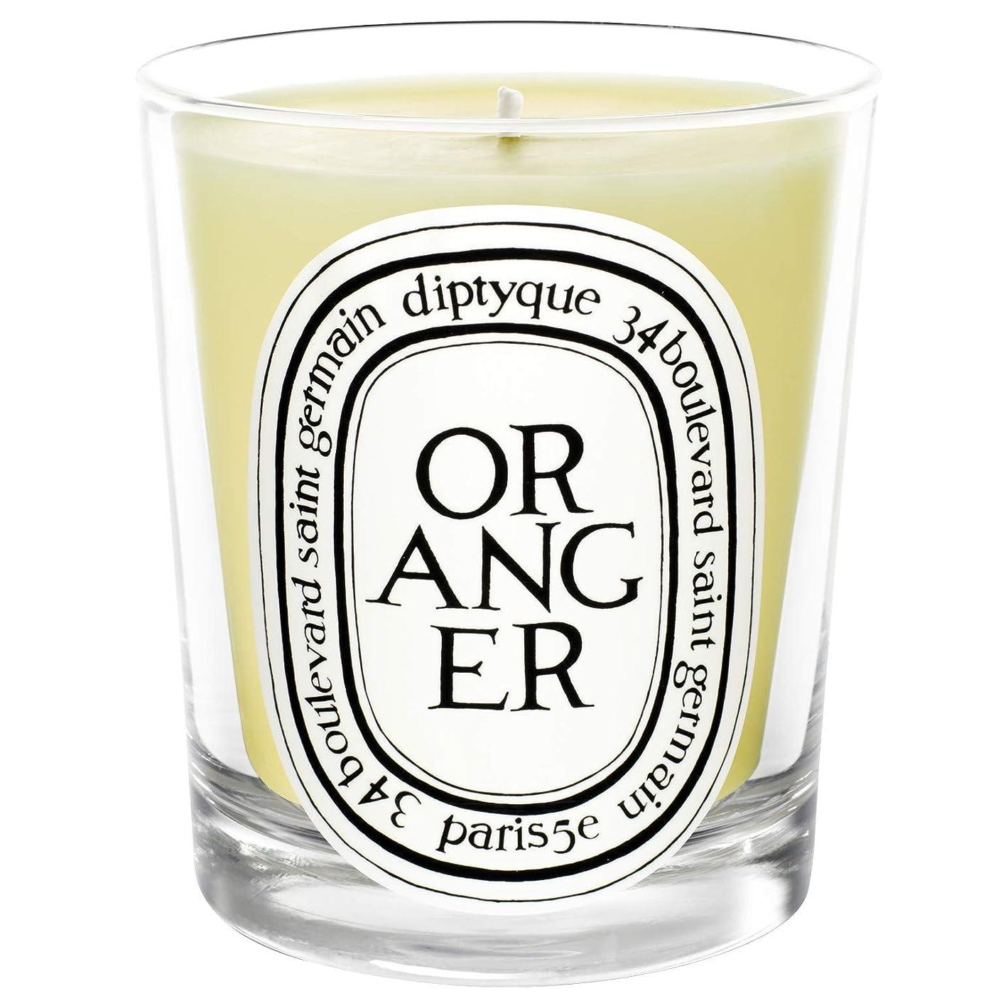 ずらす鎮静剤政治的[Diptyque] Diptyqueのオランジェ香りのキャンドル190グラム - Diptyque Oranger Scented Candle 190g [並行輸入品]