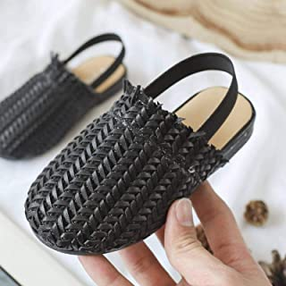 Summer Kids Sandals for Girls Braided Sandals Fashion Toddler Baby PU Leather Beach Shoes Soft Children Casual Princess Sl...