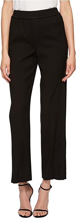 Ankle Zip Wide Leg Pants