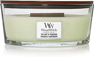 Woodwick Ellipse doftande ljus med Hearthwick flamma Ellipse gRÖN