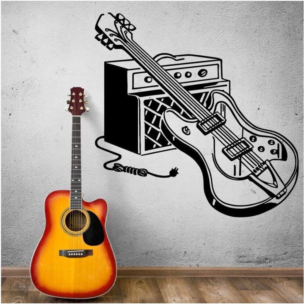 Zlxzlx Etiqueta De La Pared Guitarra Eléctrica Tatuajes De Pared ...