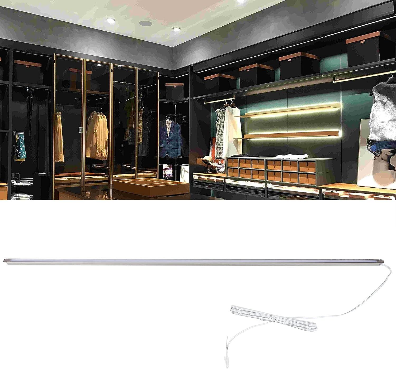 Tira de luz LED, iluminación interior de diseño ultrafino para guardarropas para vinotecas para entradas para escritorios