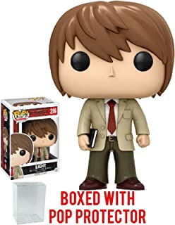 Funko Pop! Anime: Death Note - Light Vinyl Figure (Bundled with Pop BOX PROTECTOR CASE)