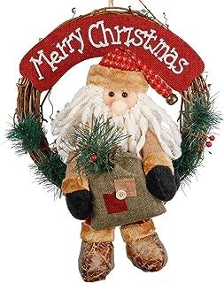 Best santa door wreath Reviews