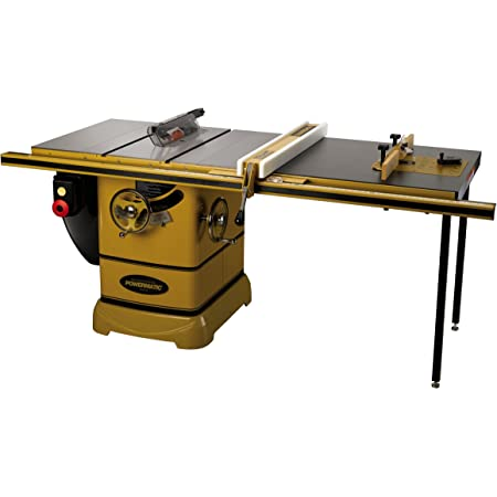 Powermatic 1792001K PM2000, 3HP 1PH Table Saw, with 50-Inch Accu-Fence System and Rout-R-Lift