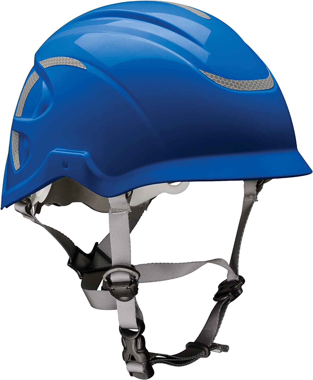 MSA 10186490 Nexus Height Master Climbing Vented Helmet, blueee